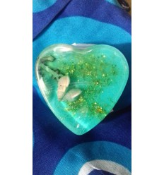 Agean Sea Heart Soap