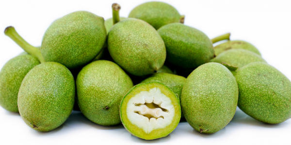 The benefits of the green walnut